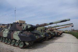 טנקים באתר יד לשריון