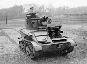 טנק קל בריטי MK-6 - בשירות הצבא המצרי
