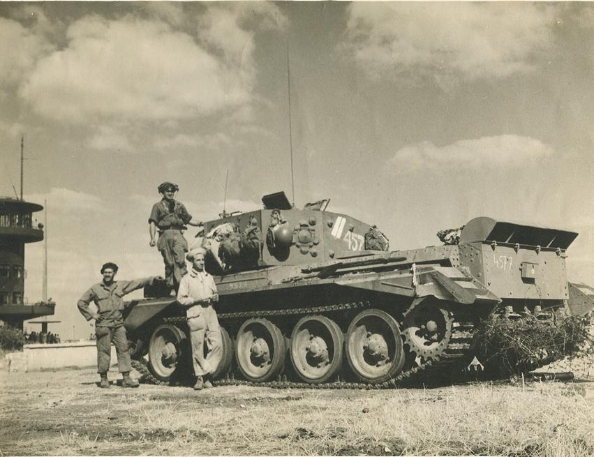 טנק קרומוול בכיבוש לוד