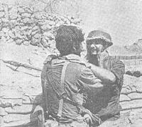 פגישה בין חייל במעוז בודפשט למחלצו