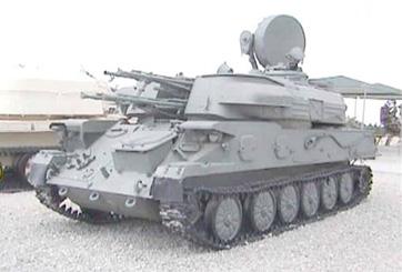 """טנק נ""""מ ZSU4"""