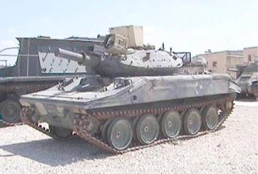 טנק קל שרידן M551