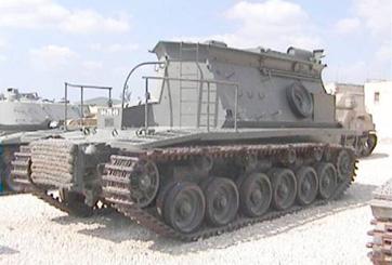 טנק חילוץ סנטוריון BARV