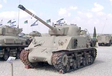 טנק שרמן M50
