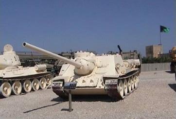 משחית טנקים SU100