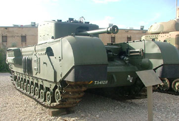 טנק צ'רצ'יל