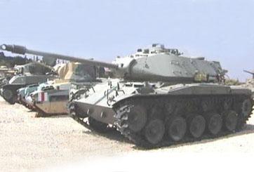 """טנק קל M41 A3 """"ווקר בולדוג"""""""