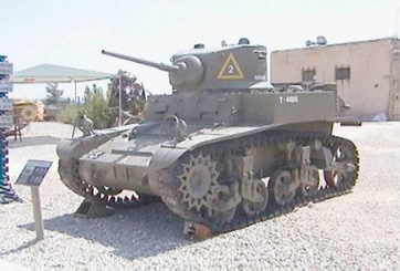 M3 A1 טנק קל סטיוארט
