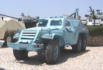 """נגמ""""ש חילוץ BTR152"""