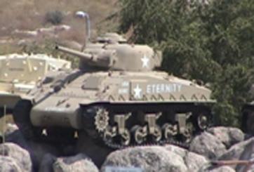 טנק שרמן M3 (אנדרטת בעלות הברית)
