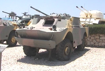 שריונית BRDM2 – נושאת טילי סאגר
