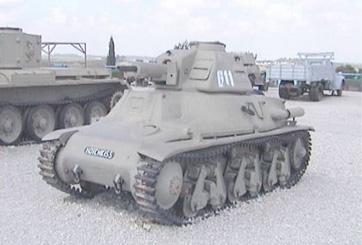 H39 טנק הוצ'קיס