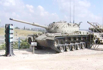 טנק מגח 3 M48 A3