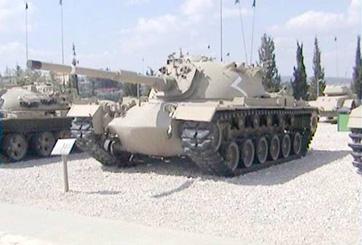 M48 A1 ,3 טנק מגח