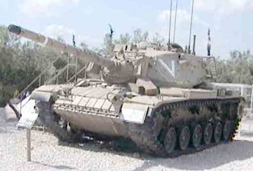 "M60 A1, ""טנק מגח ב' ""גל"