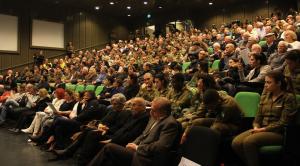 קהל המשתתפים בערב לזכר רטס