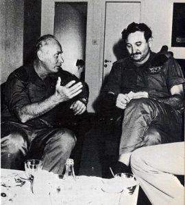מימין: קלמן מגן ואלברט מנדלר
