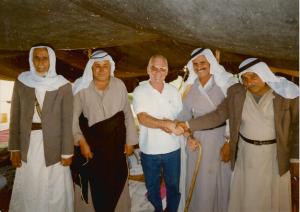 ארבלי עם בני הפזורה הבדואית