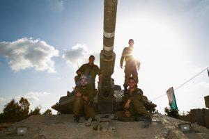 צוות טנק של חטיבה 401