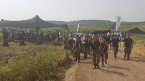 לוחמי השריון בצעדה