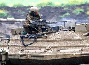 מפקד טנק בפעולה