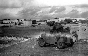 משוריין בלחימה בגליל