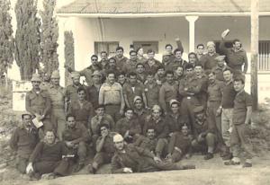 צילום קבוצתי של לוחמי הפלוגה