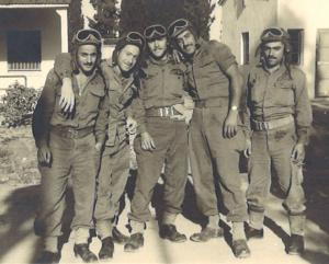 אחד מצוותי הפלוגה. הצוות מנה חמישה לוחמים: מפקד, תותחן, טען, נהג ומקלען
