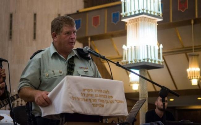 """אל""""ם יאיר וולנסקי, מח""""ט 401, בבית הכנסת הגדול בירושלים"""