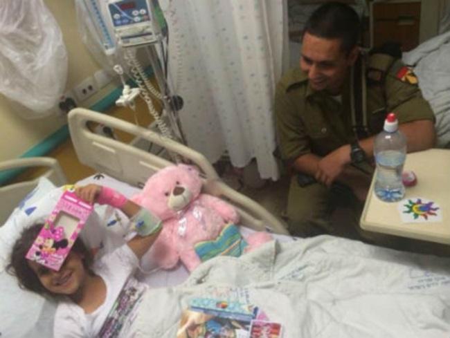 לוחמי חטיבת השריון 401התנדבו במהלך השבוע לבתי החולים שניידר וברזילי
