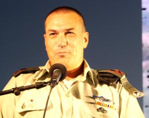 האלוף אייל זמיר, מפקד פיקוד הדרום, נושא דבריו
