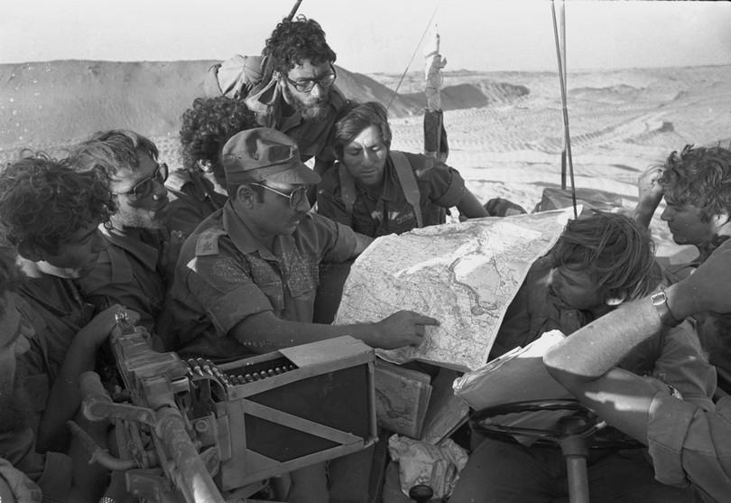 חיים ארז כמחט 421 במלחמת יום הכיפורים
