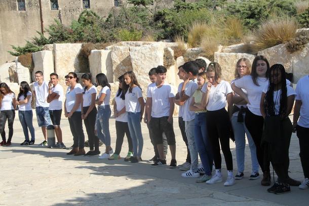 ביקור תלמידים מפתח תקוה