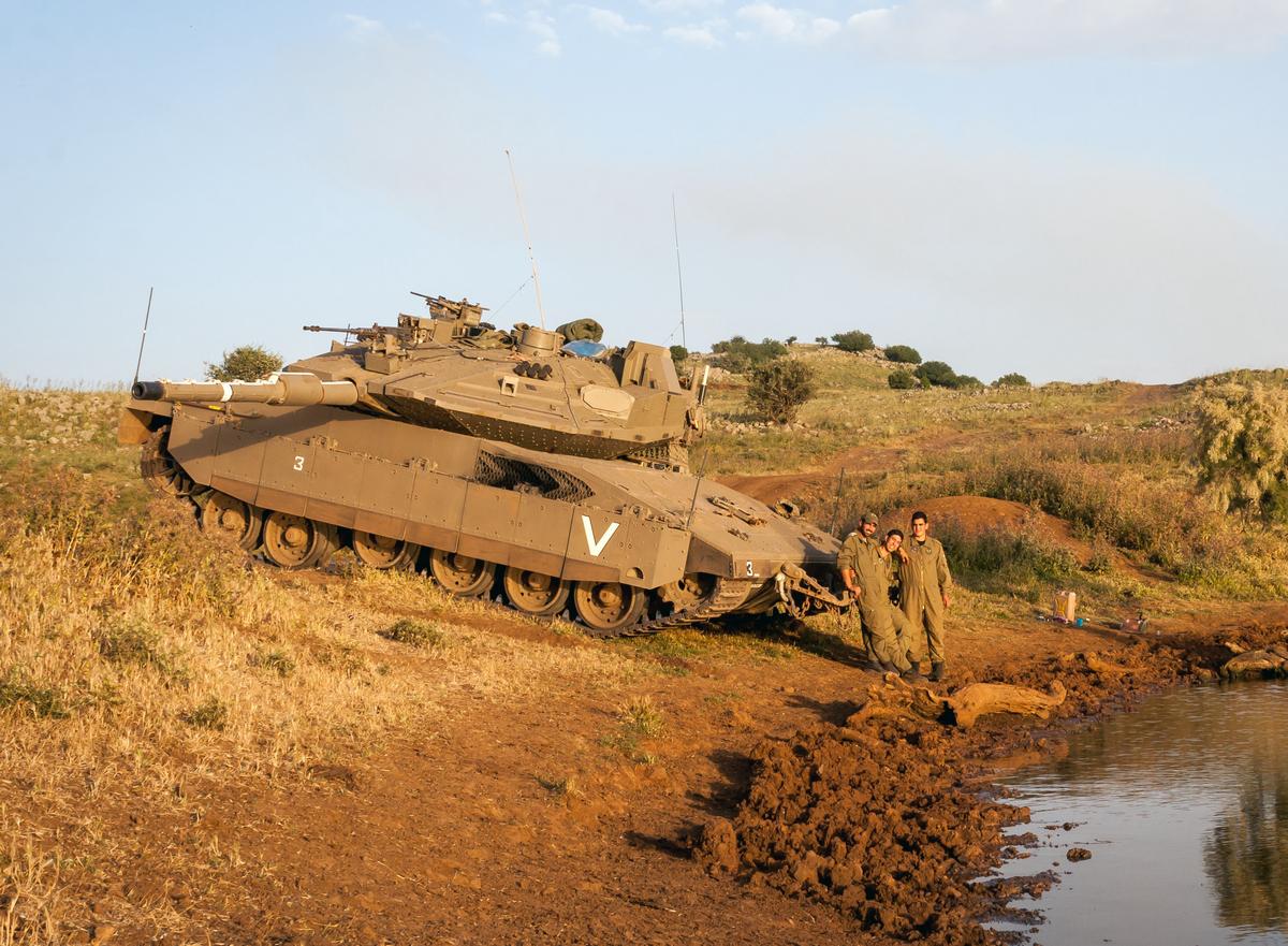 מרכבה סימן 4 של גדוד 82