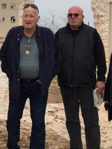 שמעון בן מימון (מימין) ודורון רובין