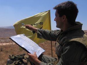 """המ""""פ גידי לפני הקרב. צילום: חטיבה 401"""