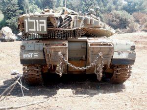 """טנק הסמ""""פ בשלהי מלחמת לבנון השניה"""