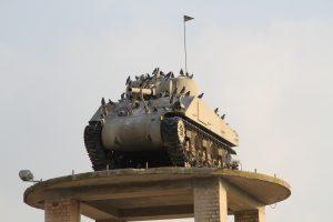הטנק על המגדל