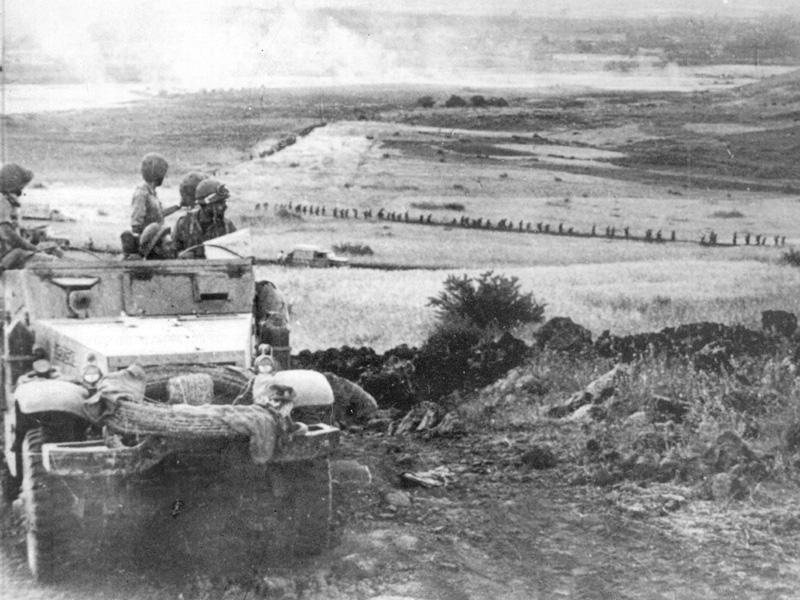 מלחמת ששת הימים - כיבוש רמת הגולן