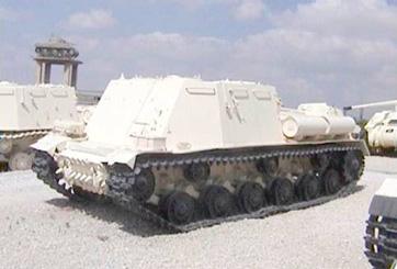 טנק פיקוד סטאלין JSU