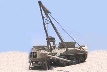 """טנק חילוץ שרמן M32, מזקו""""מ רחב"""