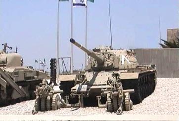 טנק מגח M48 A55