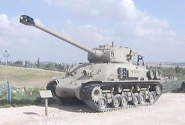 טנק שרמן M51