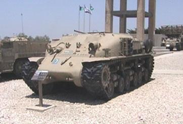 טנק שרמן לימוד נהיגה