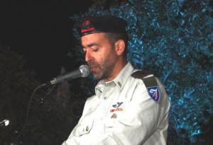 מפקד חטיבה 7 דן נוימן