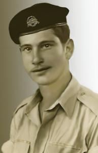 ארבלי - 1955 - מתגייס לשריון