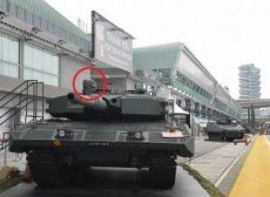 תוספת ישראלית לטנק ליאופרד הסינגפורית