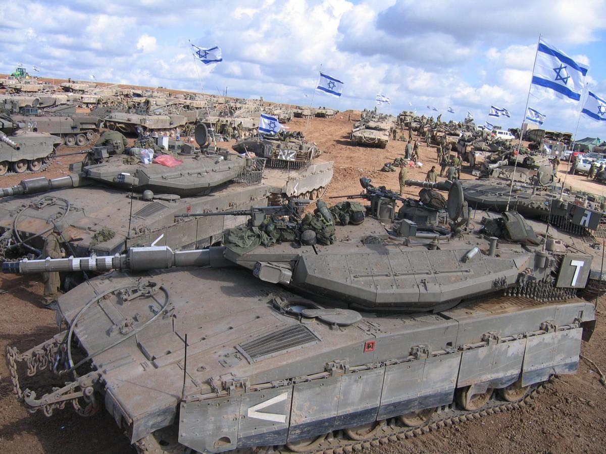 טנקים במבצע עופרת יצוקה