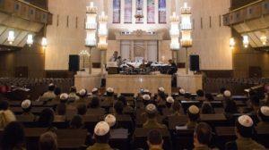 ערב הסליחות בבית הכנסת הגדול בירושלים