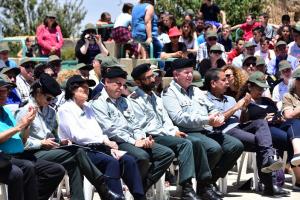 מראה מהטקס בהר אדר